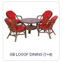 GB LOGOF DINING (1+4)